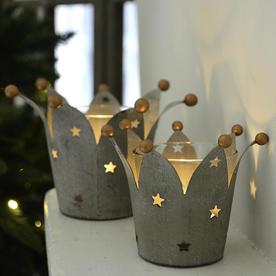 Crown Tealight Holder