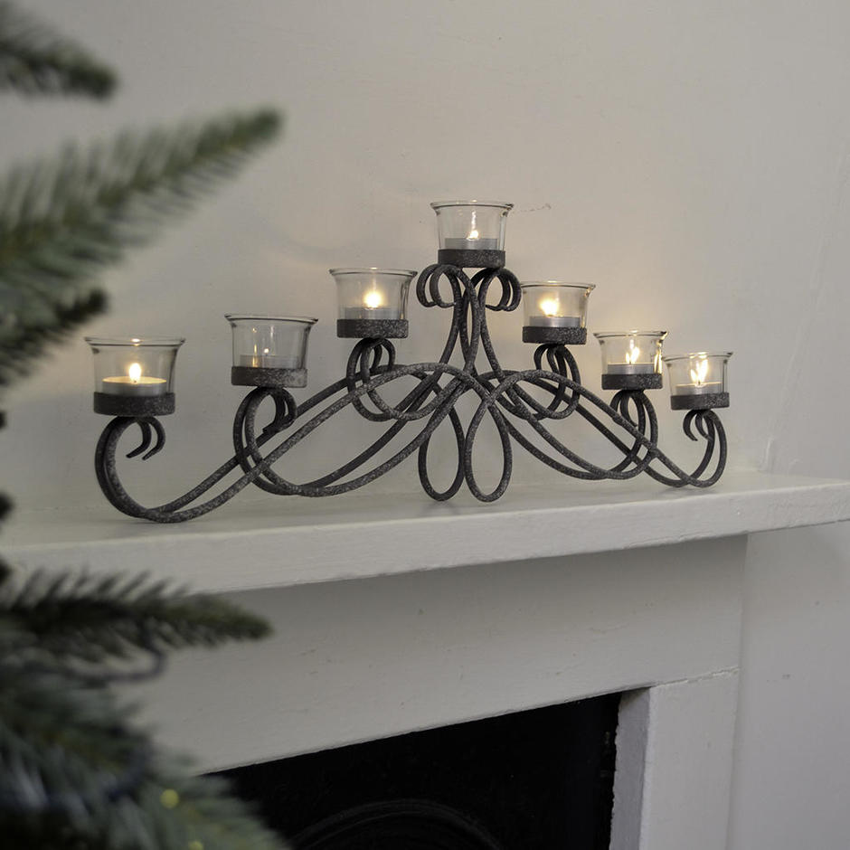 Antique Arch Tealight Holder