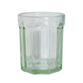 Fish & Fish Green Glass Tumbler