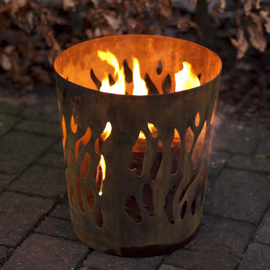 Round Winter Brazier
