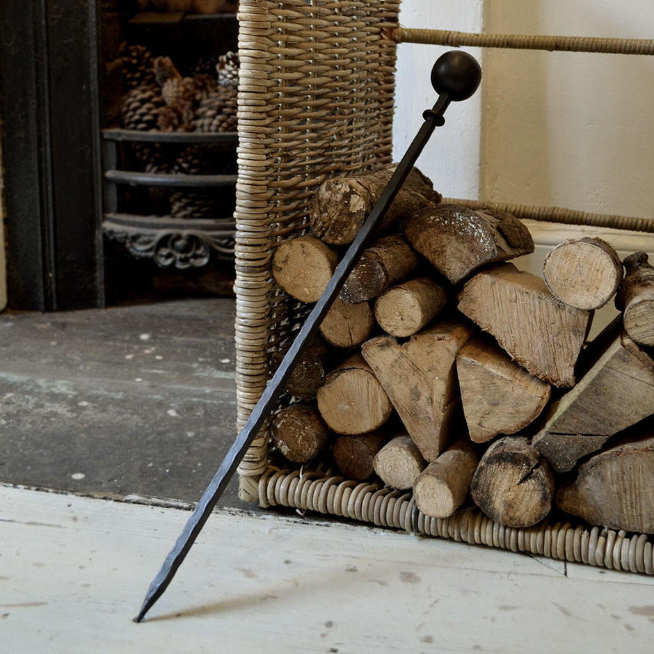 Wrought Iron Fire Poker