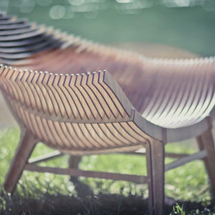 Manta Low Armchair by Ibride