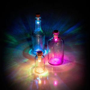 Multicolour Bottle Light