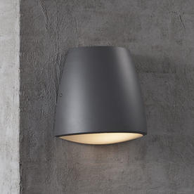 Coxs Curved Outdoor Wall Lighting