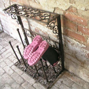 Cast Iron Boot Rack