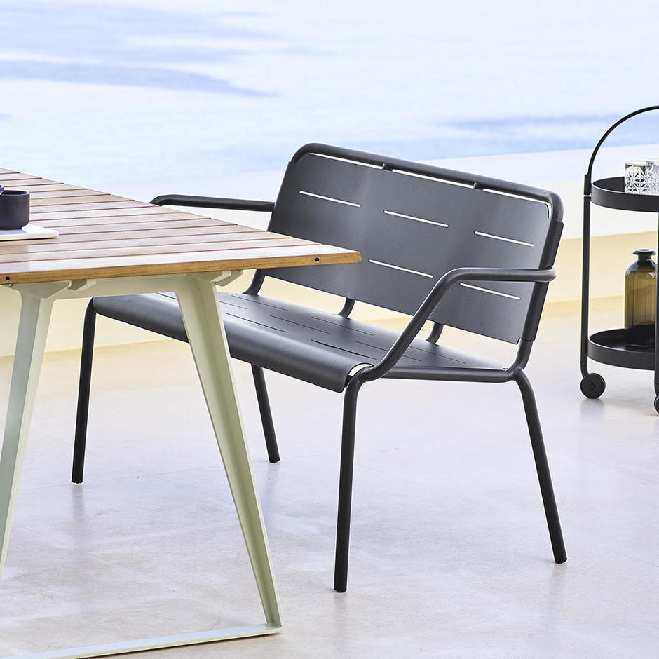 Copenhagen Bench with Backrest