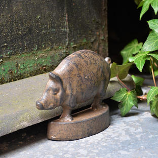Vintage Pig Door Wedge