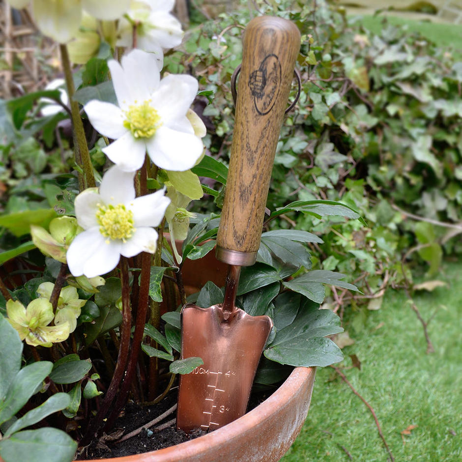 Copper Plated Trowel