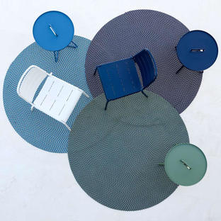 Defined Round Outdoor Rugs