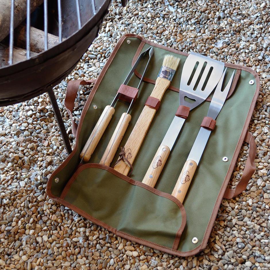 BBQ Tools and Bag