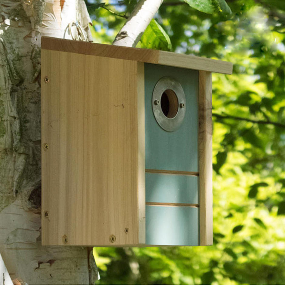 Triple Action Bird House