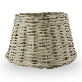 Randwick Grey Wicker Lampshades