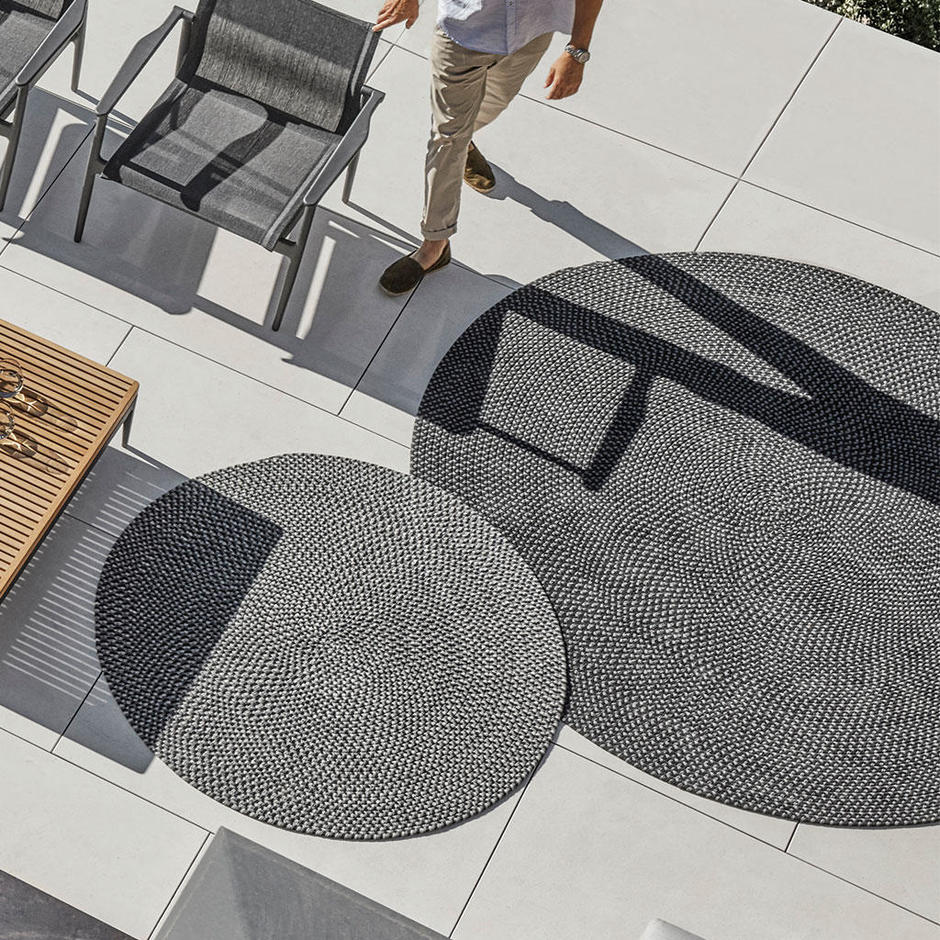 Buy Gloster Outdoor Circular Deco Rugs By Gloster The