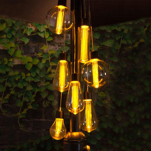 Outdoor battery lights the worm that turned revitalising your edison parasol cluster lights aloadofball Gallery