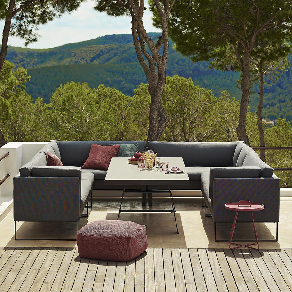 Buy Flex Outdoor Dining Lounge By Cane Line The Worm