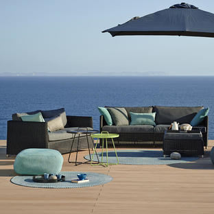 Diamond Weave Outdoor Lounge