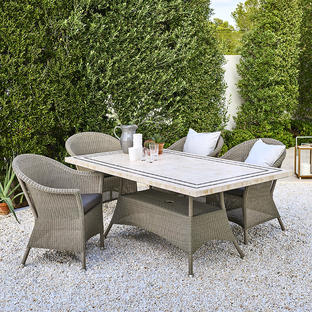 Lansing Rectangular Outdoor Dining Table Bases