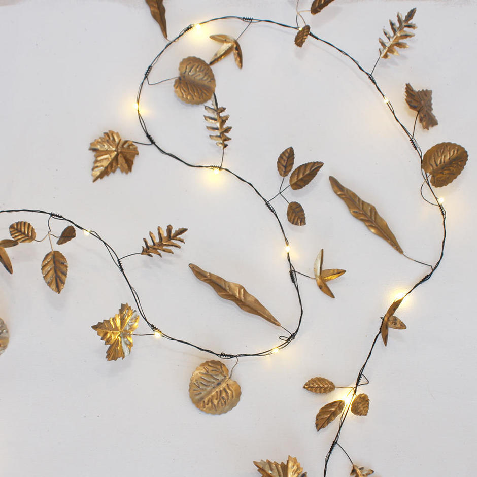 LED Metallic Leaf lights