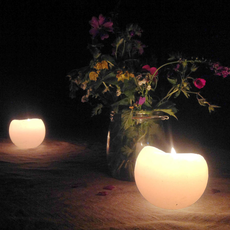 Outdoor Ball Candles
