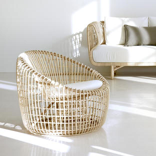 Nest Indoor Lounge Round Chair