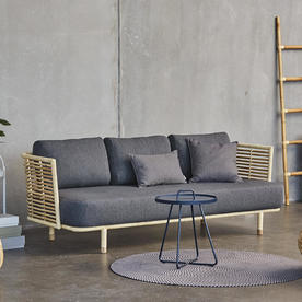Sense Indoor 3 seater Sofa