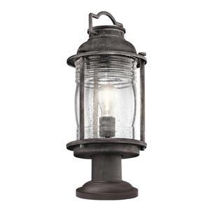 Outdoor lights for a cottage garden ashland bay medium pedestal lantern mozeypictures Images