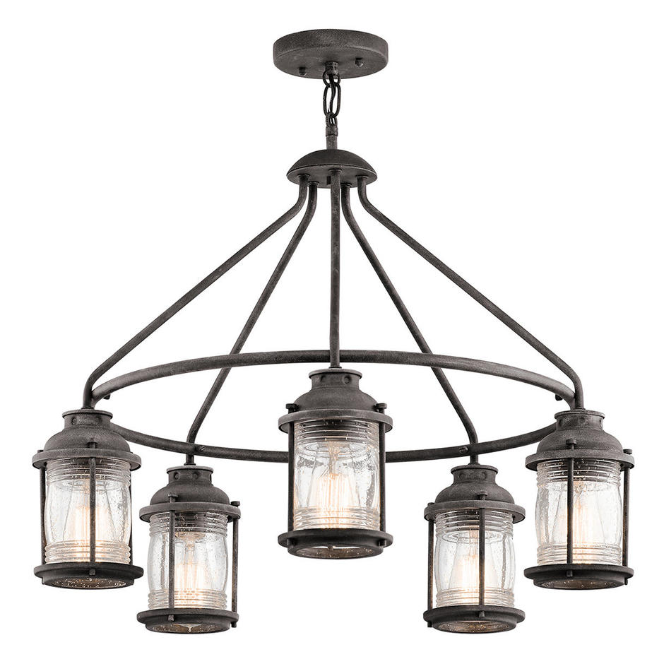 Ashland Bay Outdoor Chandelier