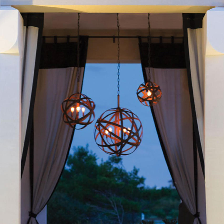 Carson Outdoor Chandeliers