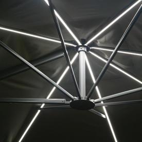 Sunrise Rectangular 3m x 4m LED Cantilever Parasol