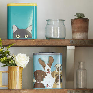 Animal Storage Tins