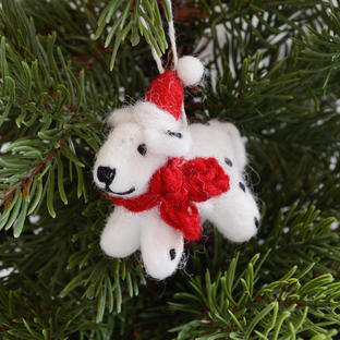 Mini Dalmatian Christmas Decoration