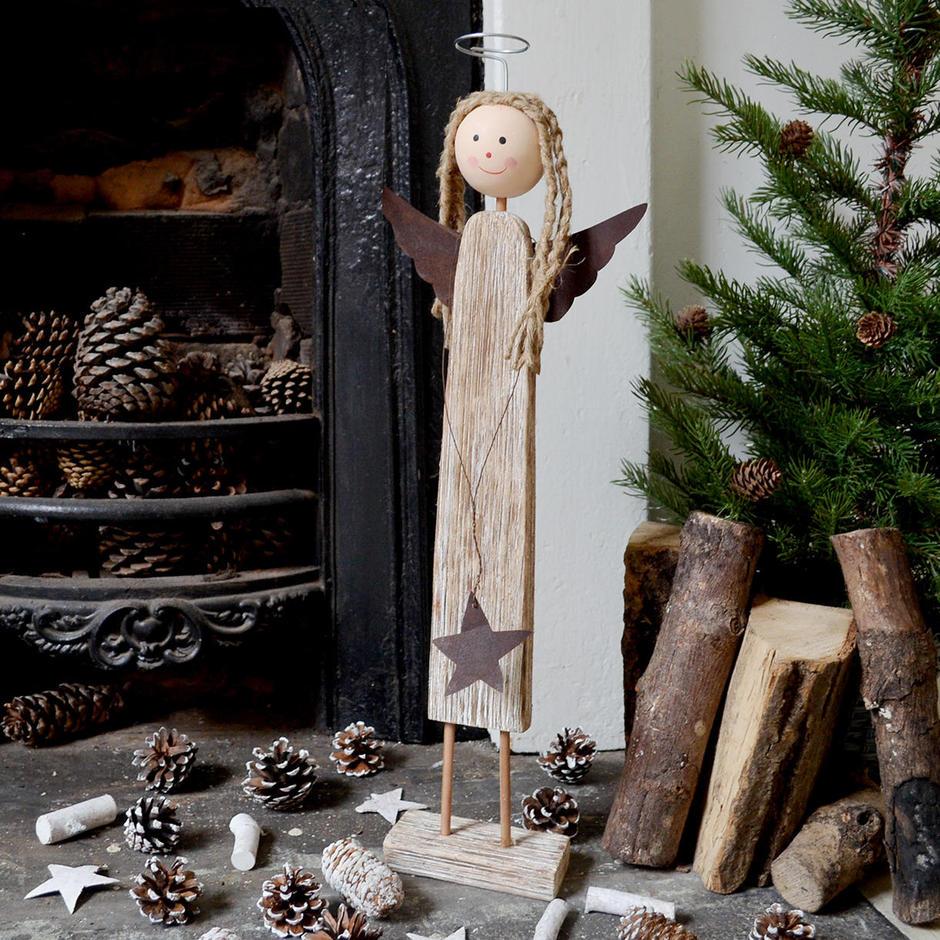 Driftwood Rustic Angel