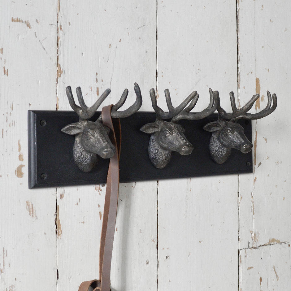 3 Stag Wall Hook