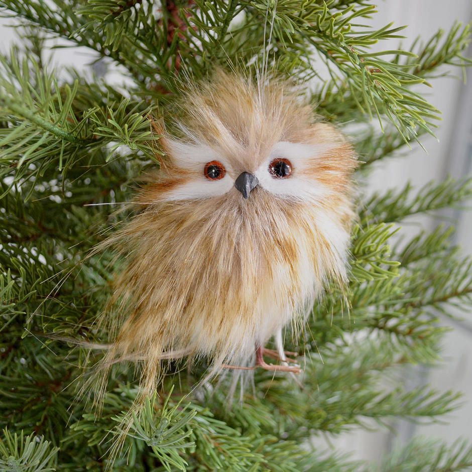 Fluffy Owl Hanging Decorations