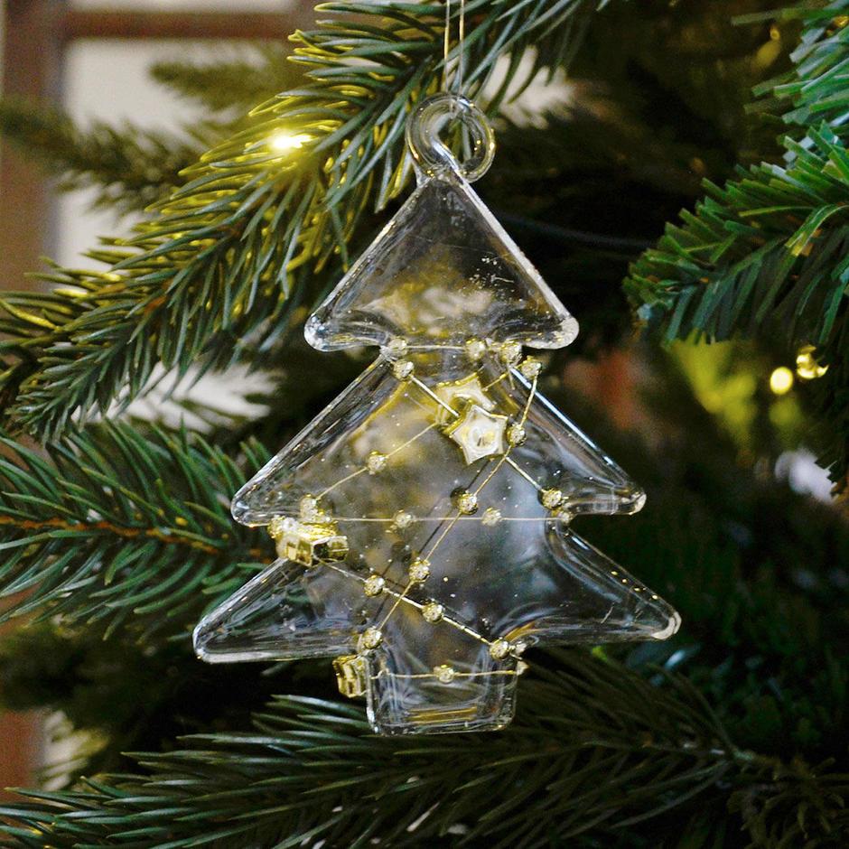 Decorative Glass Beaded Tree