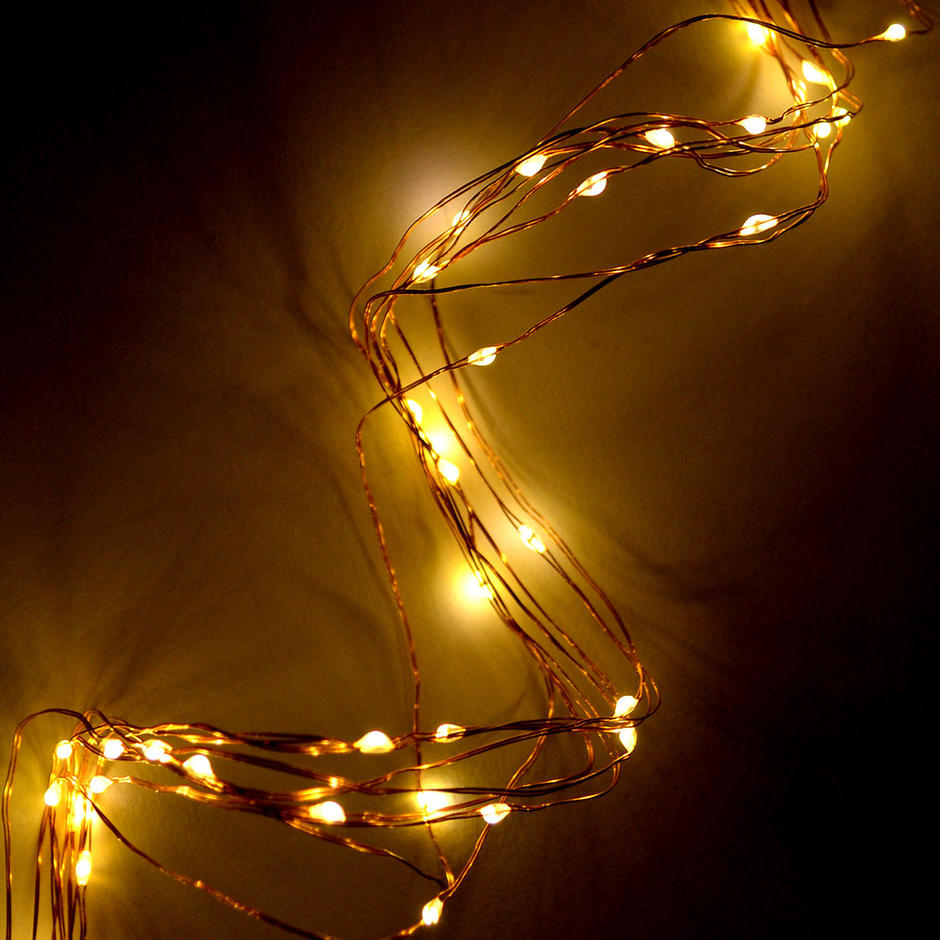 Copper 300 LED Outdoor String Lights