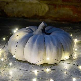 Decorative Cement Pumpkin