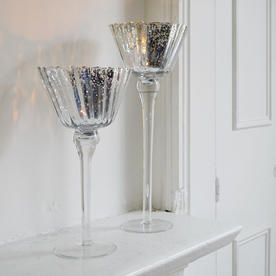 Fluted Candle Holders