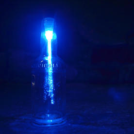 Optic Fibre Bottle Light