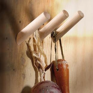 Wooden Peg Hooks