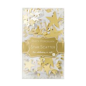 Gold Star Table Confetti