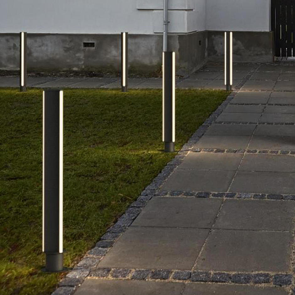 Industrial Lighting Applications: Buy Titus Outdoor LED Bollard Light By Design For The