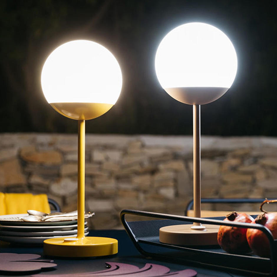 buy mooon table lamps by fermob outdoor furniture the worm that turned revitalising your. Black Bedroom Furniture Sets. Home Design Ideas