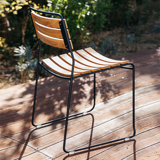 Surprising Stackable Teak Chairs