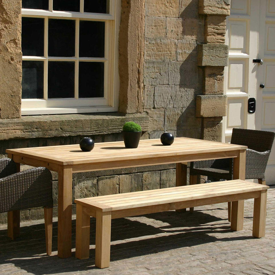 Antibes Outdoor Refectory Teak Tables