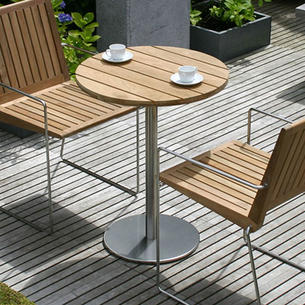 outdoor table. Antibes Outdoor Slatted Table Tops I