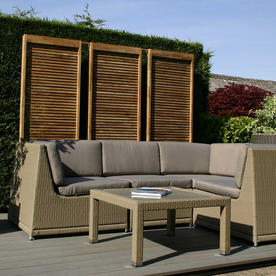 Oasis Outdoor Curved Modular Seating