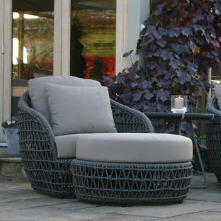 Playa Lounge Chair with Footrest