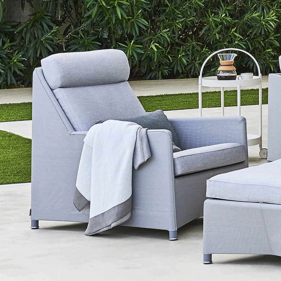 Diamond Highback Outdoor Lounge