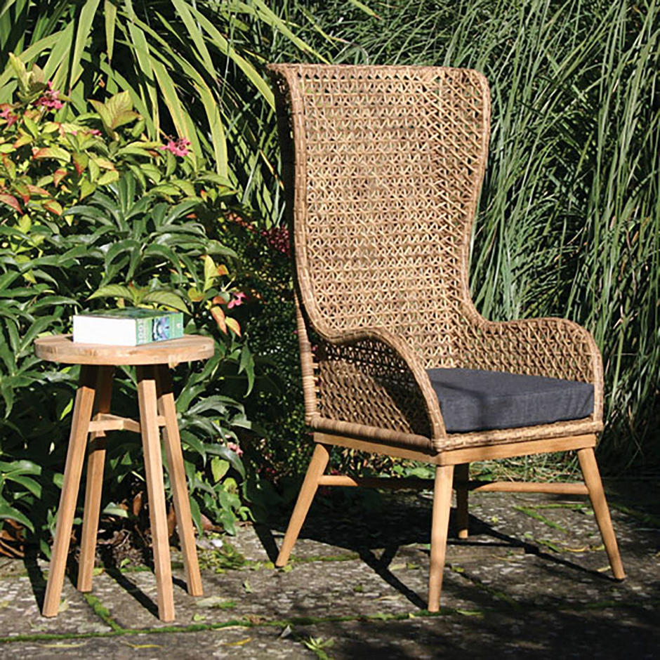 Madagascar High Back Chair